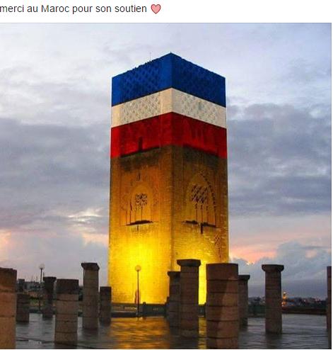 Soutien du Maroc