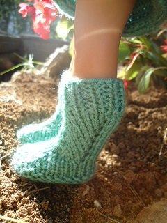 Ensemble avec jupe plissée en tricot