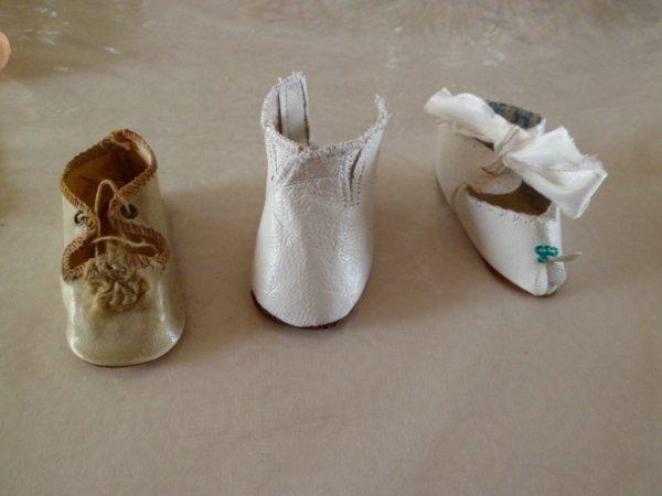 Faire les chaussures de poupées