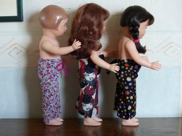 Enfin un petit moment... pour mes poupées