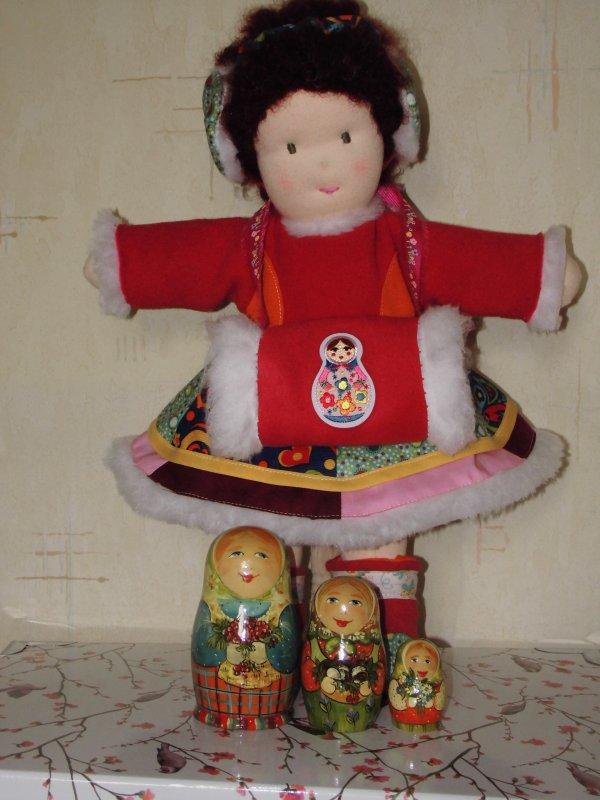 Bel article sur les poupées Waldorf