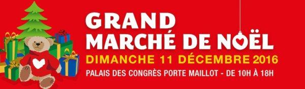Marché de Noël au Palais des Congrès à Paris