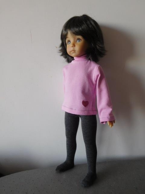 Collant pour les poupées, toutes tailles.
