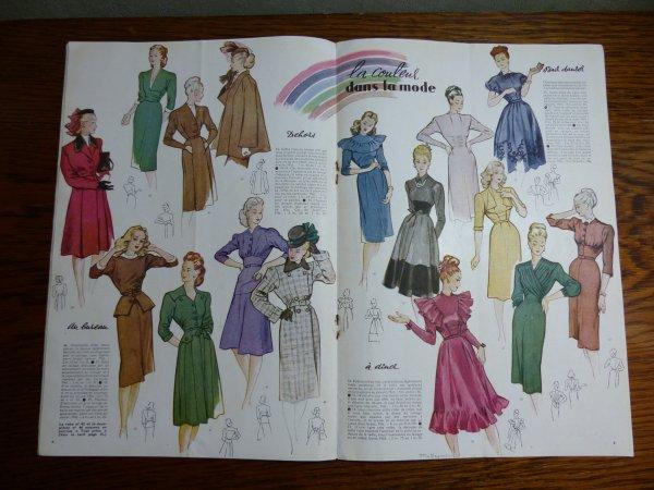 Modes et Travaux septembre-Octobre 1946