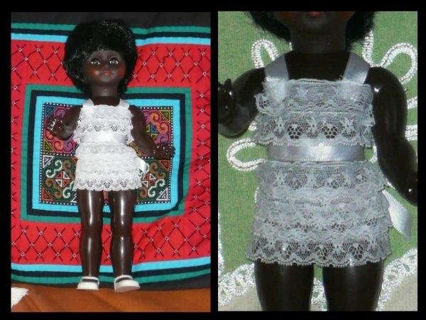 Lili poupée noire de Guyane