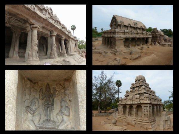 INDE : continuons vers Mahabalipuram puis Pondichéry.