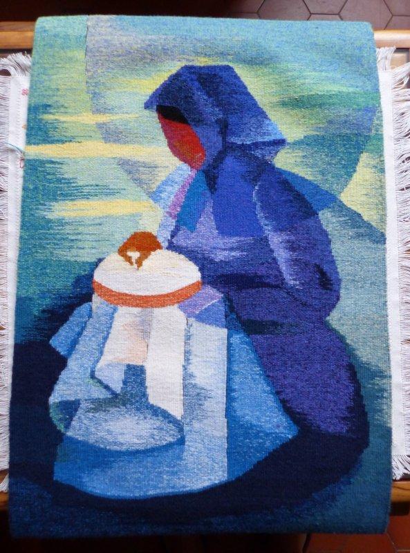Et en plus ma tapisserie est terminée.....