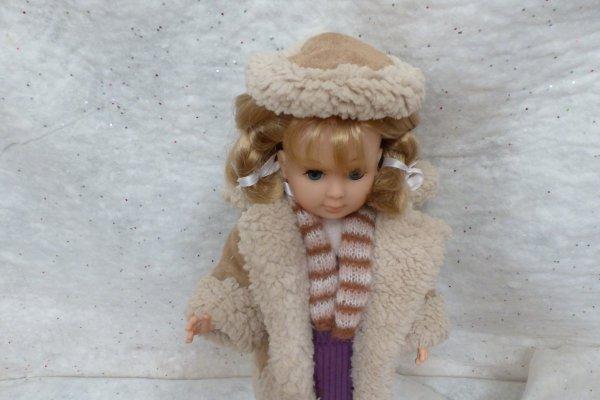 Un petite galette en complément du manteau