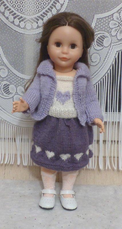 Tenue de février au tricot