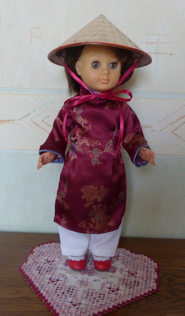 L'Ao Dai : jolie tenue vietnamienne