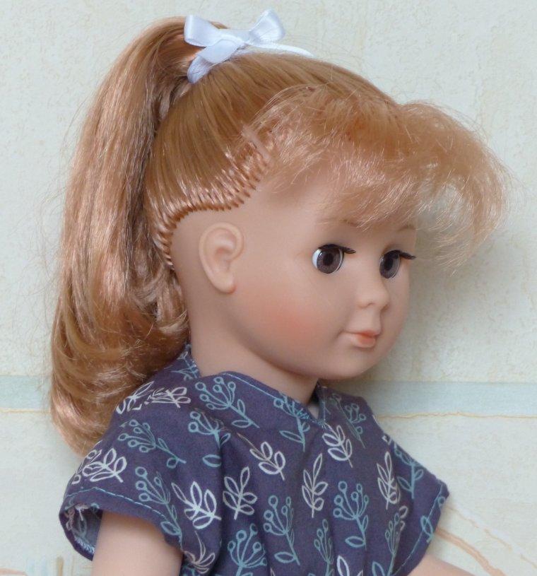 Ma poupée Jasmin est arrivée.