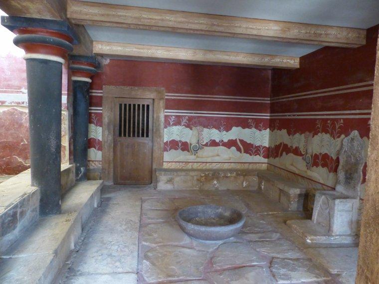 Crète : site de Knossos