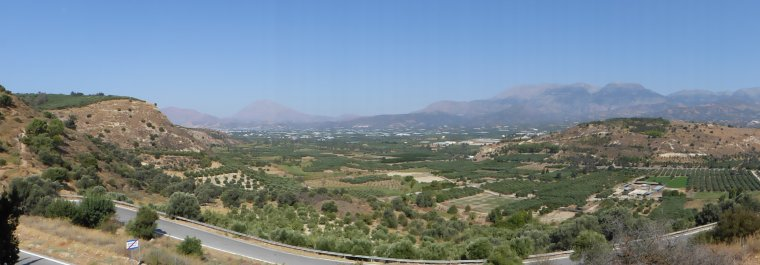 Crète : Les cultures sur l'Ile.