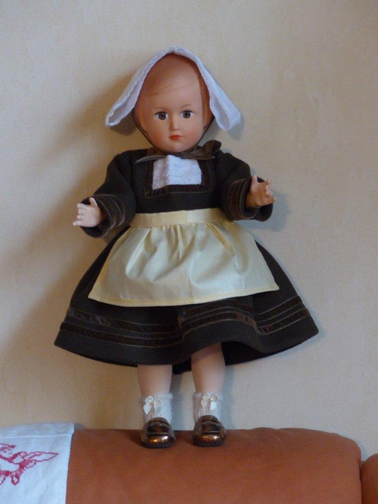 Costume de Bretonne Février 1952 de MetT