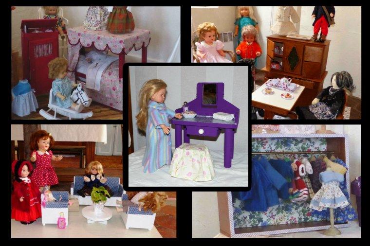 Maison de poupée virtuelle...