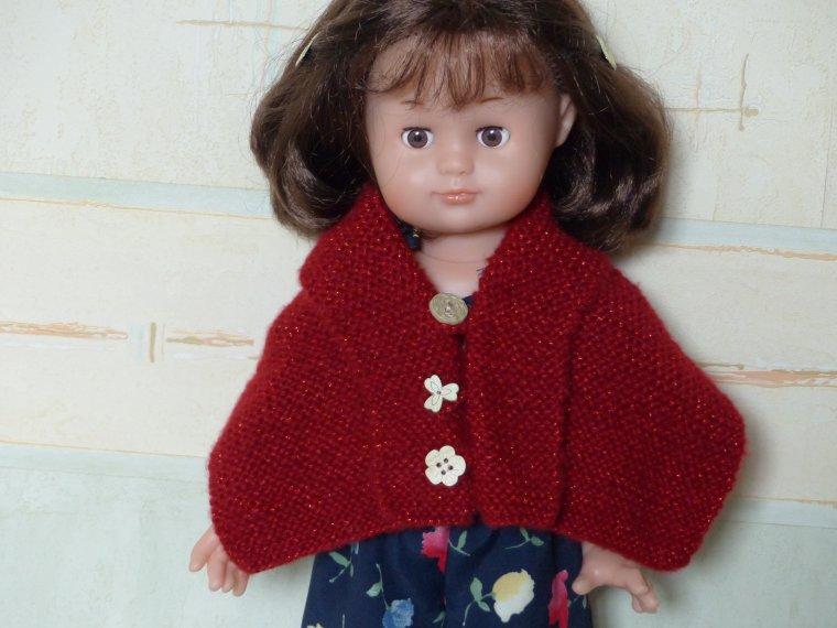 Emilie a remis une petite laine