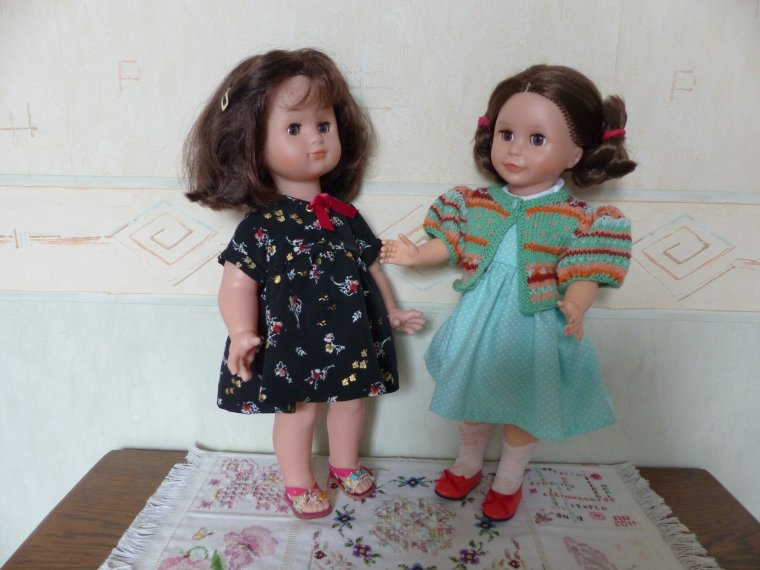 Emilie et Louise en mode mamou