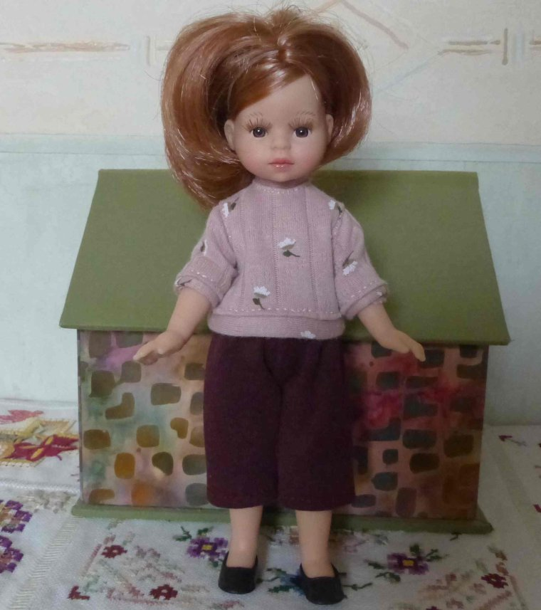 Paola : Le pantalon...