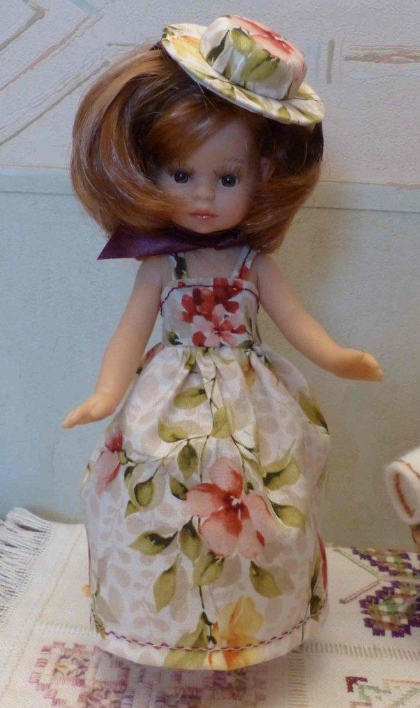 Paola : robe de soirée pour la dernière étape du challenge d'Elizée