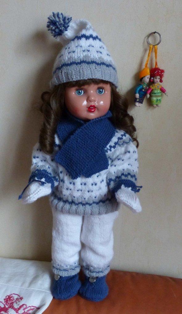 """Première tenue pour poupée 18 """""""