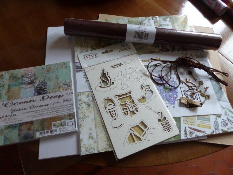 SCRAPBOOKING : scrap by nini, box de juillet