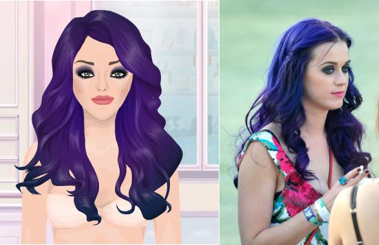 Make up Katy Perry #Stardoll