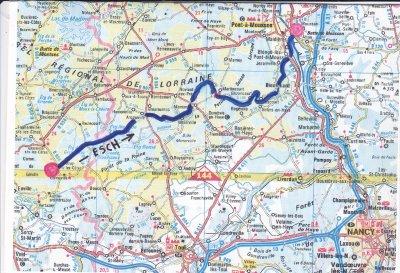 CHAPITRE 1 : Le ruisseau de l'Esch et ses moulins ( cartes postales d'hier et images d'aujourd'hui )  .