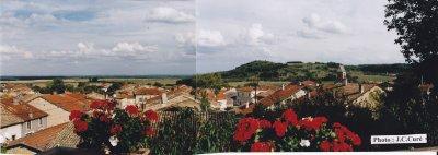 Un pittoresque  village de Meuse  : Jouy - sous - les - côtes . ( commune de Géville)  .