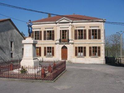 Jouy-sous-les-côtes.  ( Commune de Géville ) .