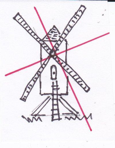 Dessiner un moulin vent d couvertes du toulois - Dessiner le vent ...