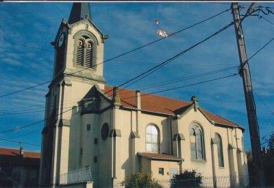 Serres ( 54 ) paroisse Ste Libaire :