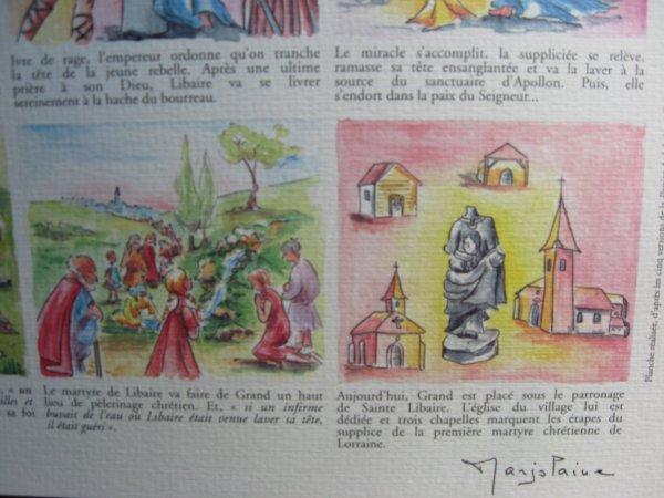 La vie de sainte Libaire : bande dessinée :