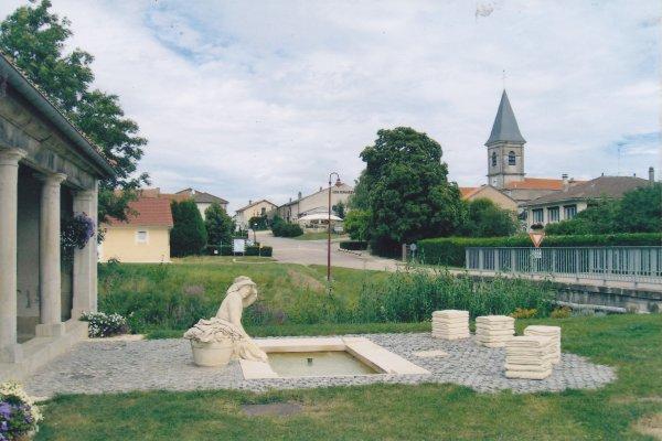 Les fontaines - lavoirs de notre Lorraine: