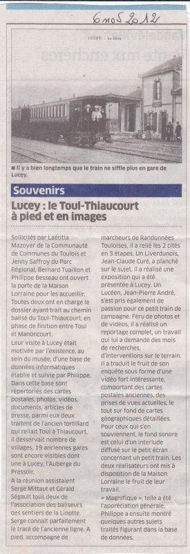 Le chemin de randonnées du Thiaucourt ( II )