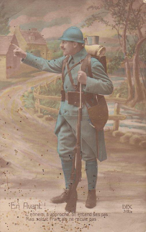 Carte postale de la grande guerre .