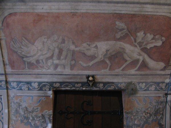 Une fresque.... médiévale .