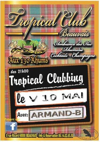 Armand-B mix le 10 mai 2013 de 21h jusqu'à 1h du mat