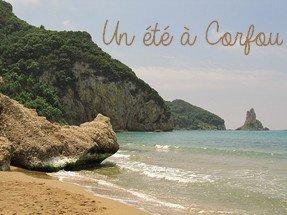 Un été à Corfou_ Image Libre de droit
