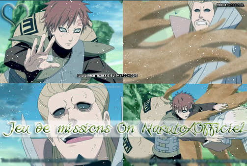 #_ Jeu des missions On NarutoxOffiicel <3
