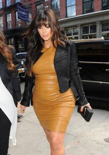 Kim Kardashian Enceinte De North