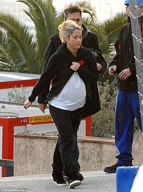 Shakira enceinte de Milan Piqué