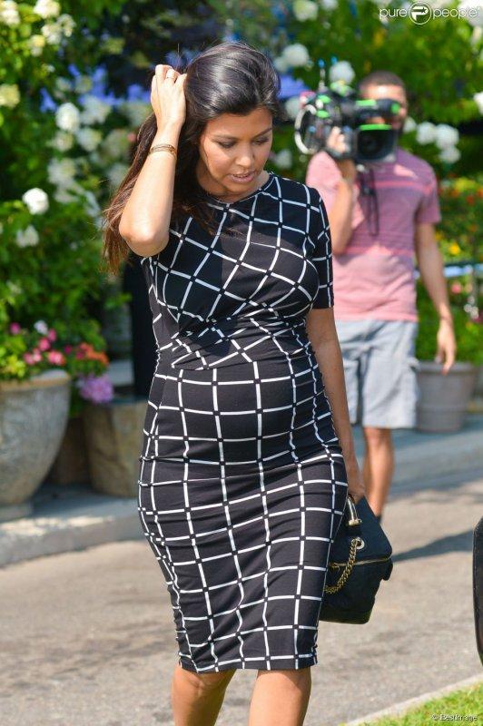 Kourtney Kardashian enceinte de Reign Aston Disick