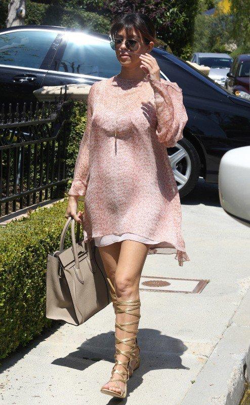 Kourtney Kardashian enceinte de Penelope Disick