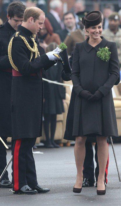 Kate Middleton enceinte de Charlotte De Cambridge