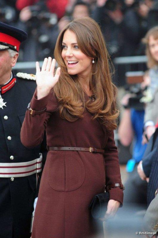 Kate Middleton enceinte de Georges De Cambridge