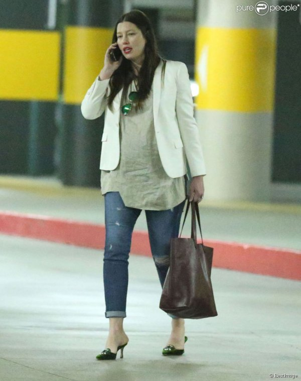jessica Biel enceinte de Silas Timberlake