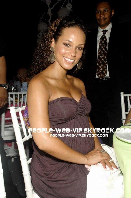 Alicia Keys enceinte de Egypt Dean
