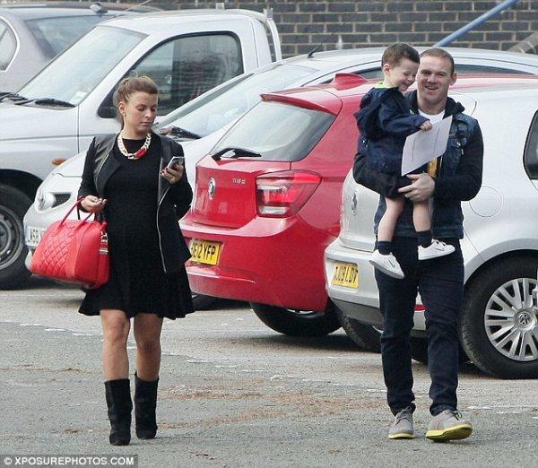 Coleen Rooney enceinte de Klay Rooney
