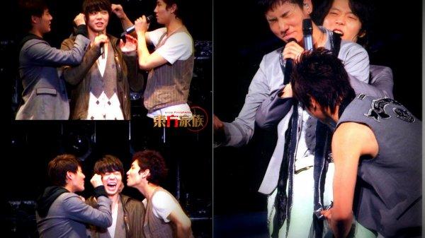 Moi je sais pourquoi maintenant Changmin pleure toujours dans les MV
