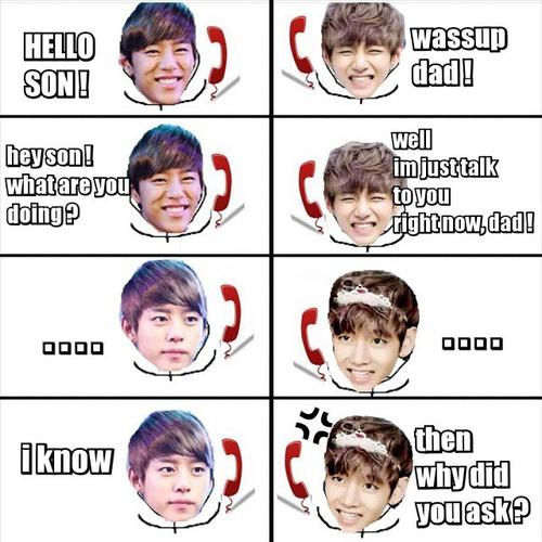 Et dans la famille Hyun ca ce passe comment ?